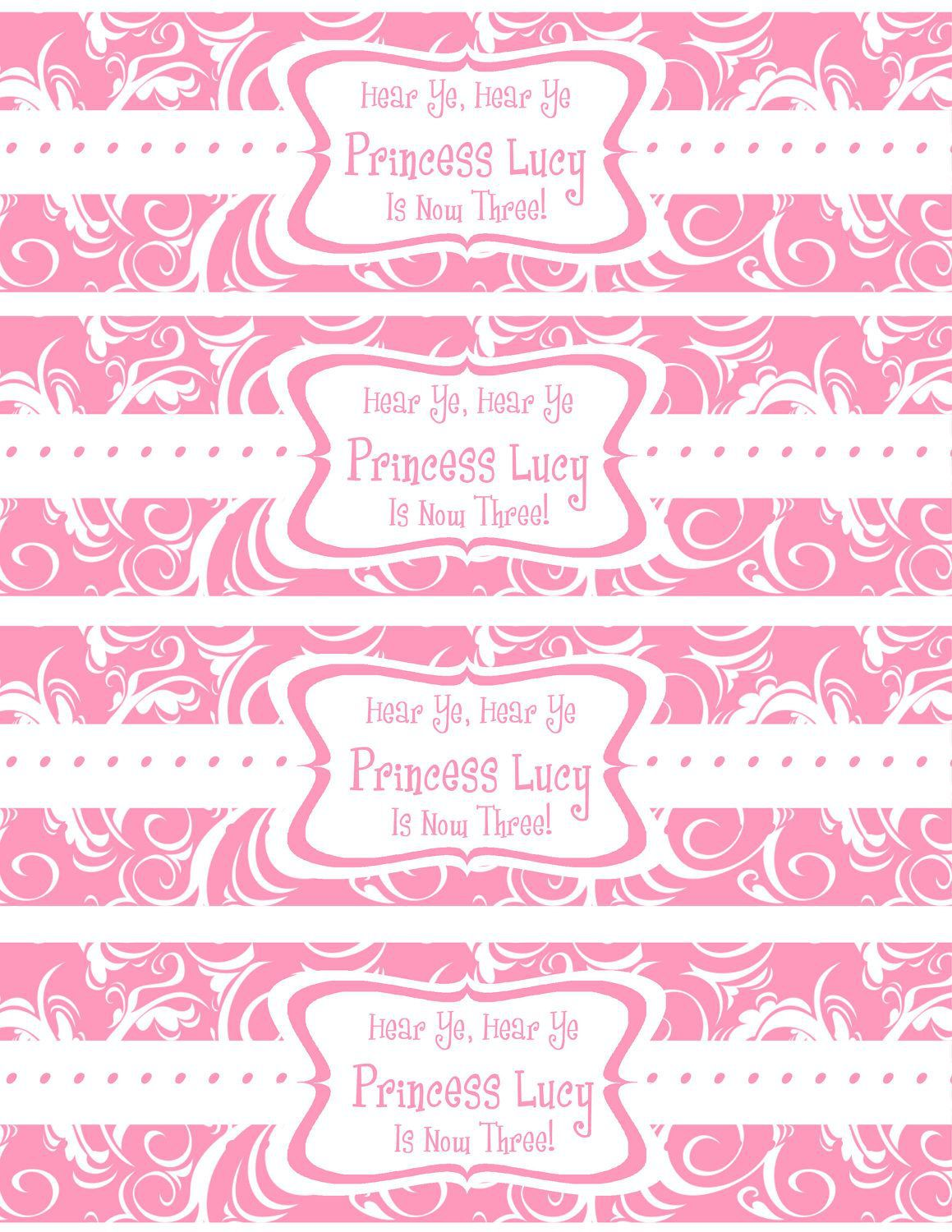 007 Beautiful Free Wedding Template For Word Water Bottle Label Highest Quality  LabelsFull