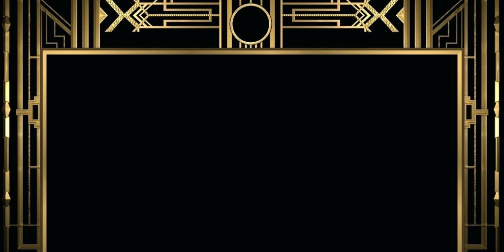 007 Beautiful Great Gatsby Invitation Template Inspiration  Templates Free Download BlankLarge