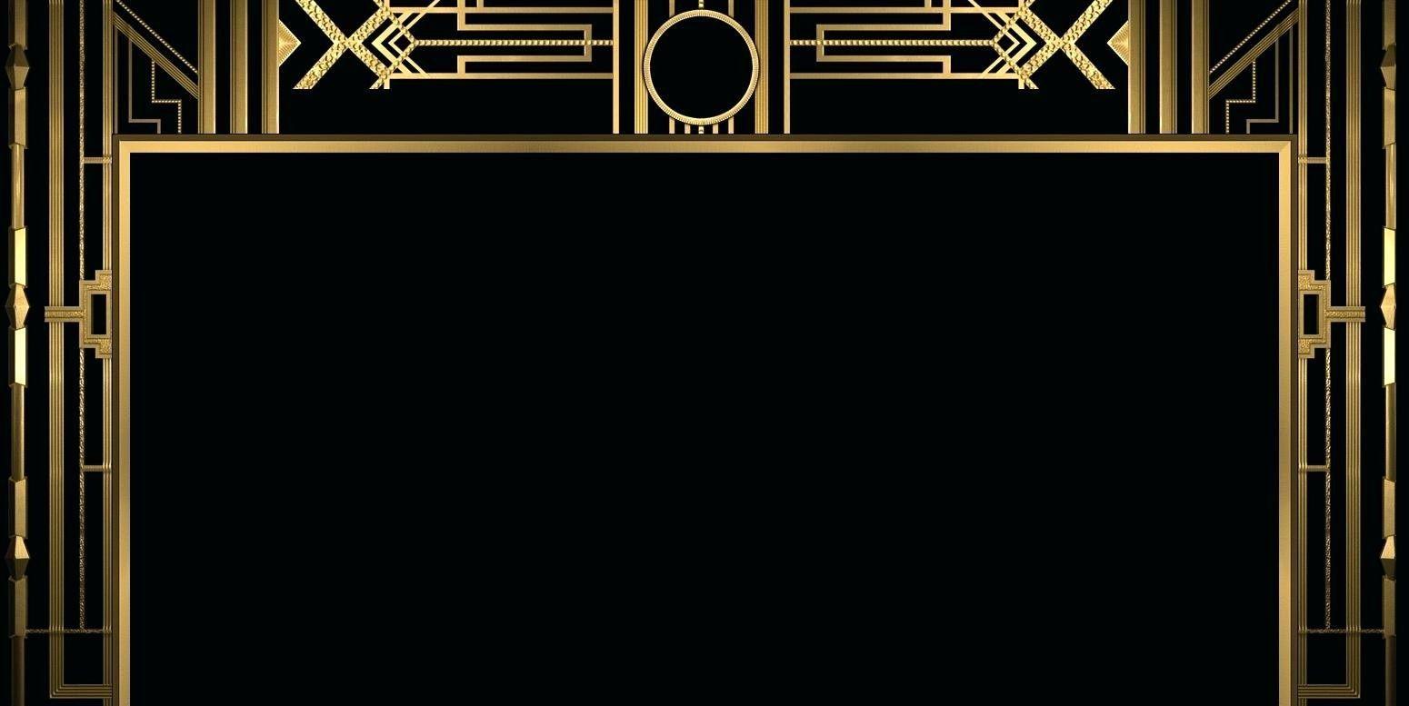 007 Beautiful Great Gatsby Invitation Template Inspiration  Templates Free Download BlankFull