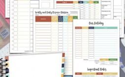 007 Beautiful Homeschool Lesson Plan Template Photo  Teacher Planner Free
