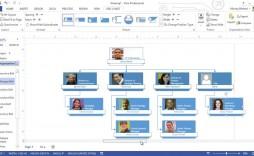 007 Beautiful Microsoft Visio Organization Chart Template Design  Org