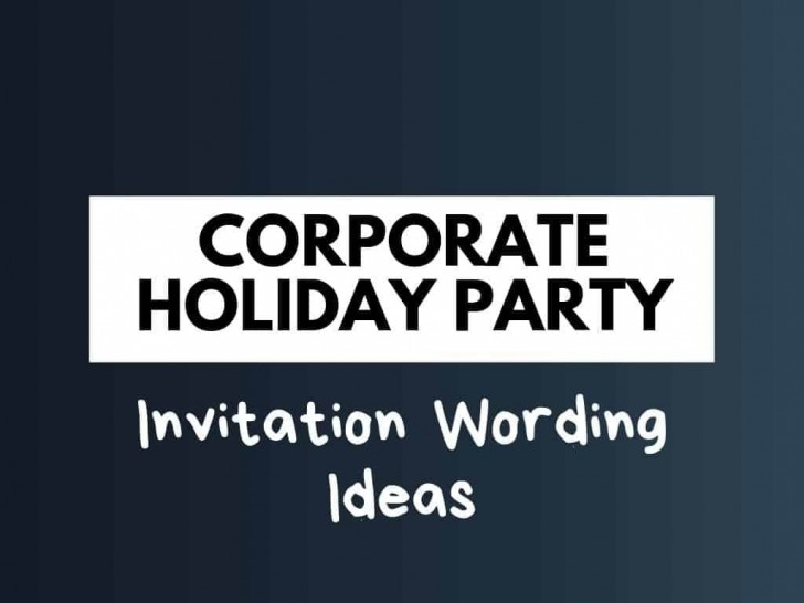 007 Beautiful Office Christma Party Invitation Wording Sample Picture  Holiday Example728