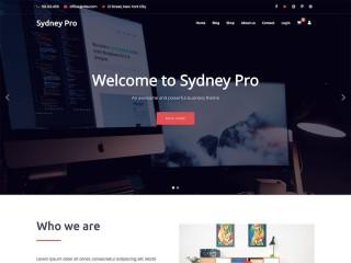 007 Beautiful Professional Busines Website Template Free Download Wordpres Example 320