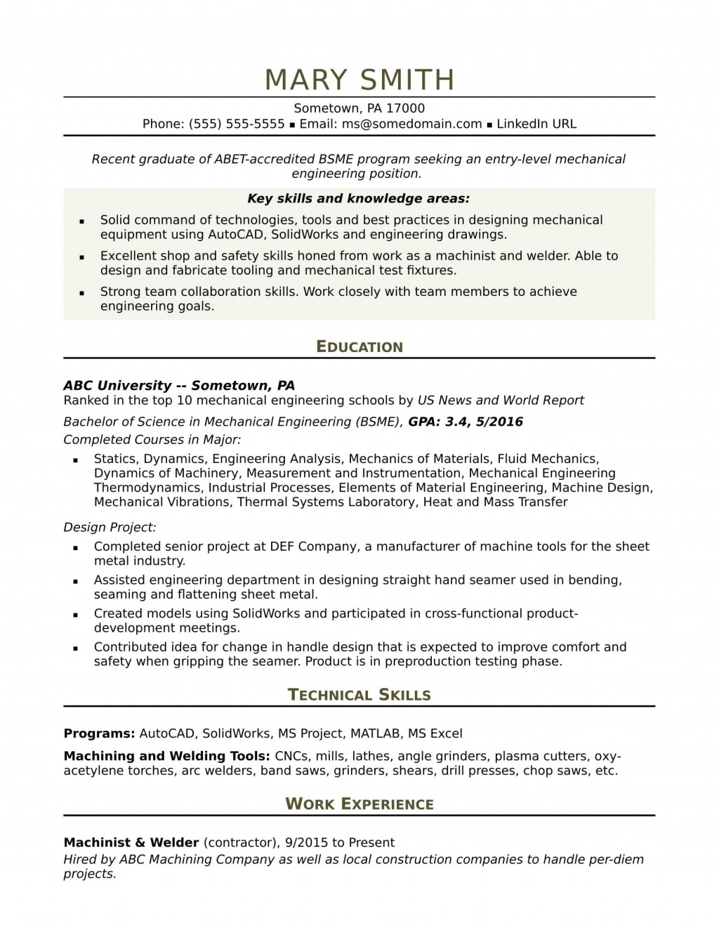 recent graduate resume template  addictionary