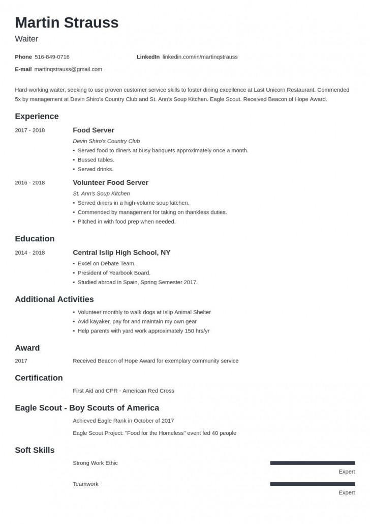 007 Beautiful Resume Template For First Job Example  Student Australia In High School Teenager728
