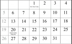 007 Best 2020 Blank Calendar Template High Resolution  Printable Monthly Word Downloadable With Holiday