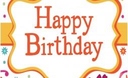 007 Best Birthday Card Template Free Design  Invitation Photoshop Download Word