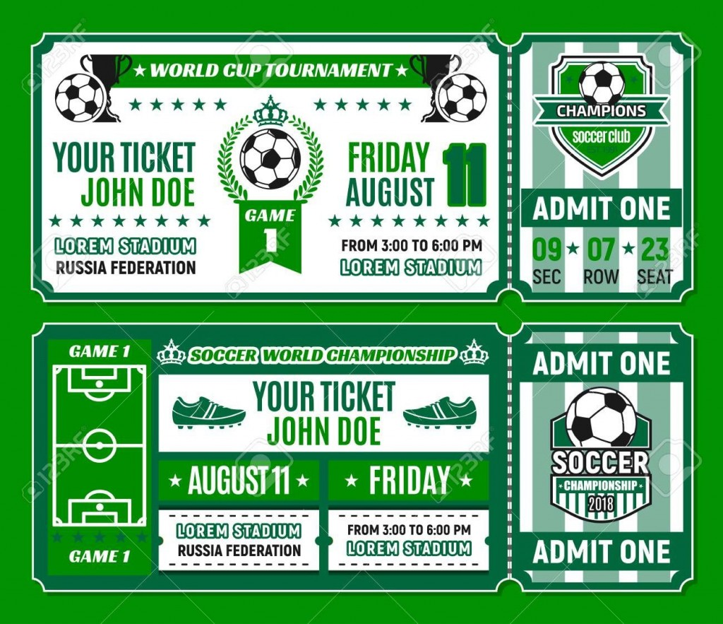 007 Best Football Ticket Invitation Template Free High Def  Printable Party DownloadLarge