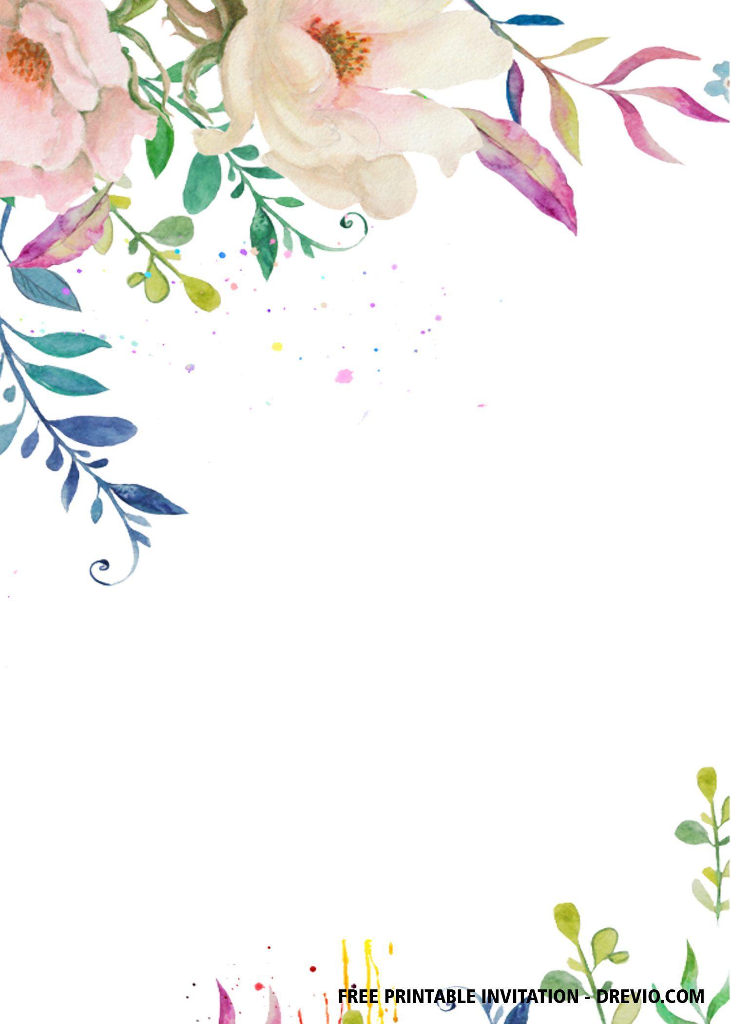 007 Best Free Bridal Shower Invite Template Highest Clarity  Invitation For Word Wedding MicrosoftFull