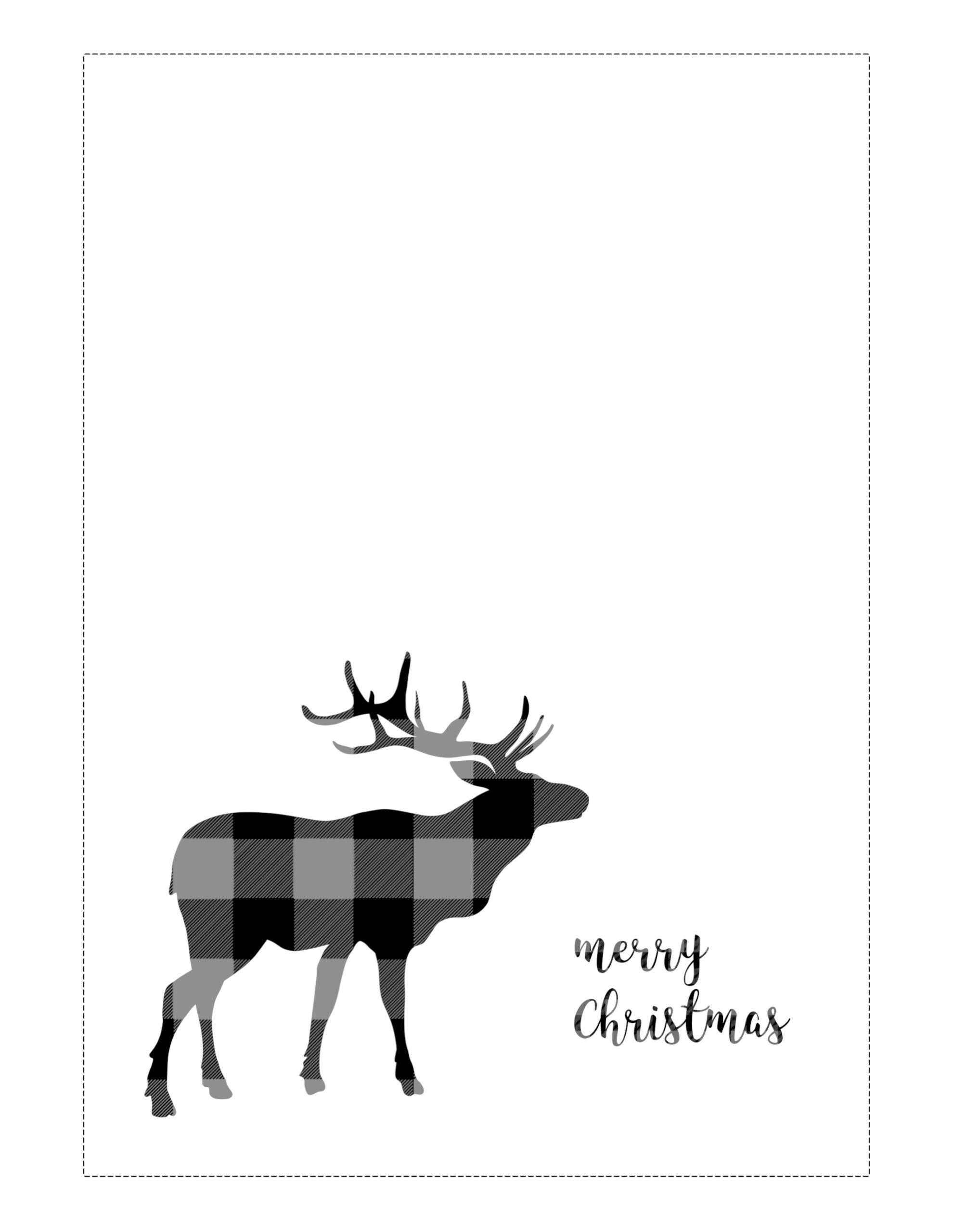 007 Best Free Printable Holiday Card Template High Definition  Templates Christma Tent Recipe Gift HolderFull