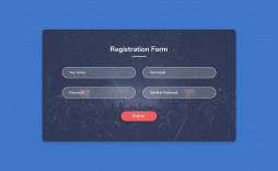 007 Best Free Registration Form Template Sample  Templates Responsive Bootstrap Download In Html Employee Cs