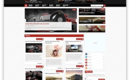 007 Best Free Responsive Blogger Template With Slider High Def