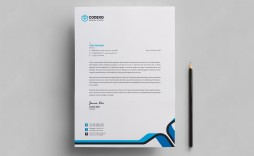 007 Best Letter Pad Design Template  Letterhead Download Ai Free In Word