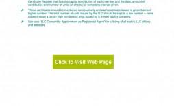 007 Best Llc Membership Certificate Template Image  Interest Free Member