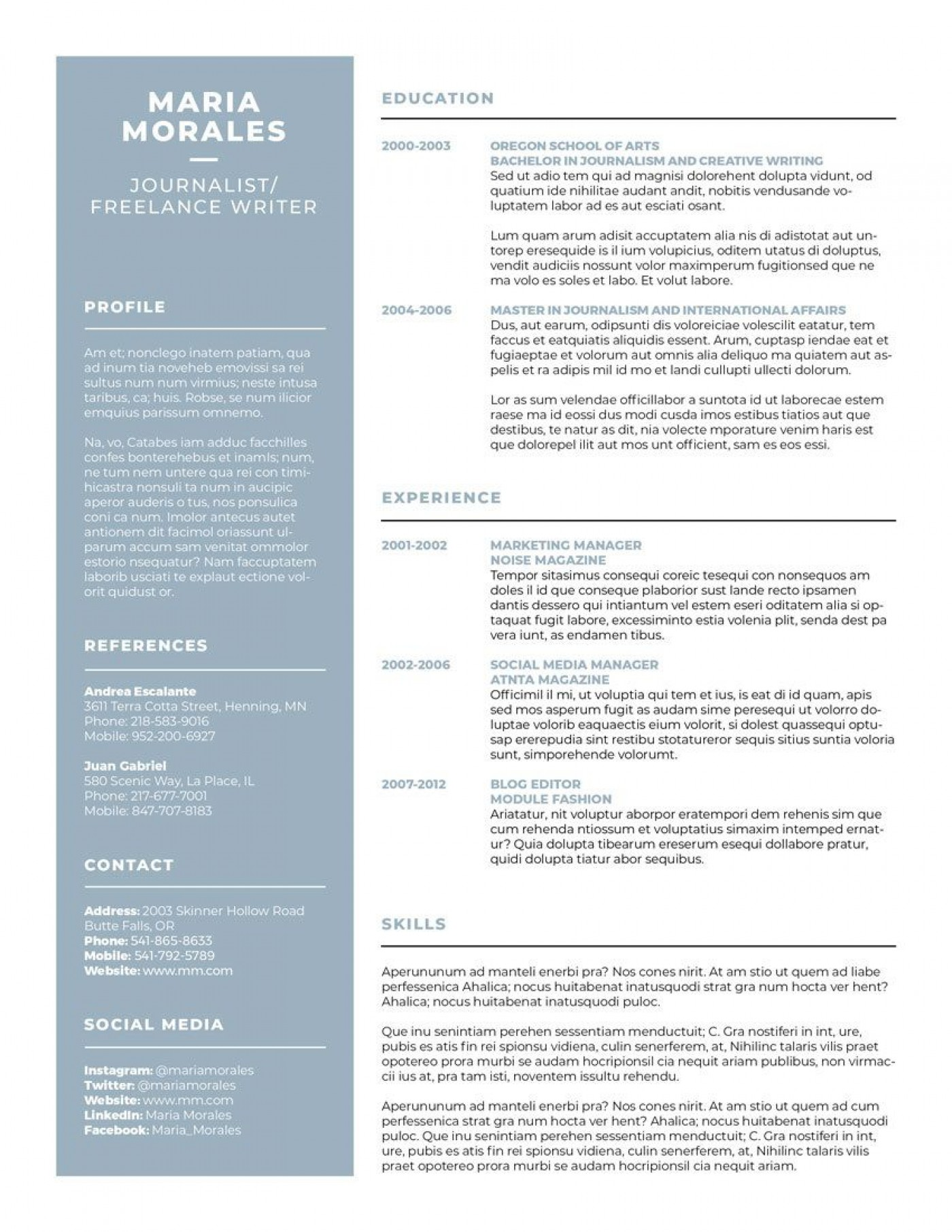 007 Best Make A Resume Template Highest Quality  Create For Free How To Good1400
