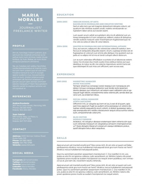 007 Best Make A Resume Template Highest Quality  Create For Free How To Good480