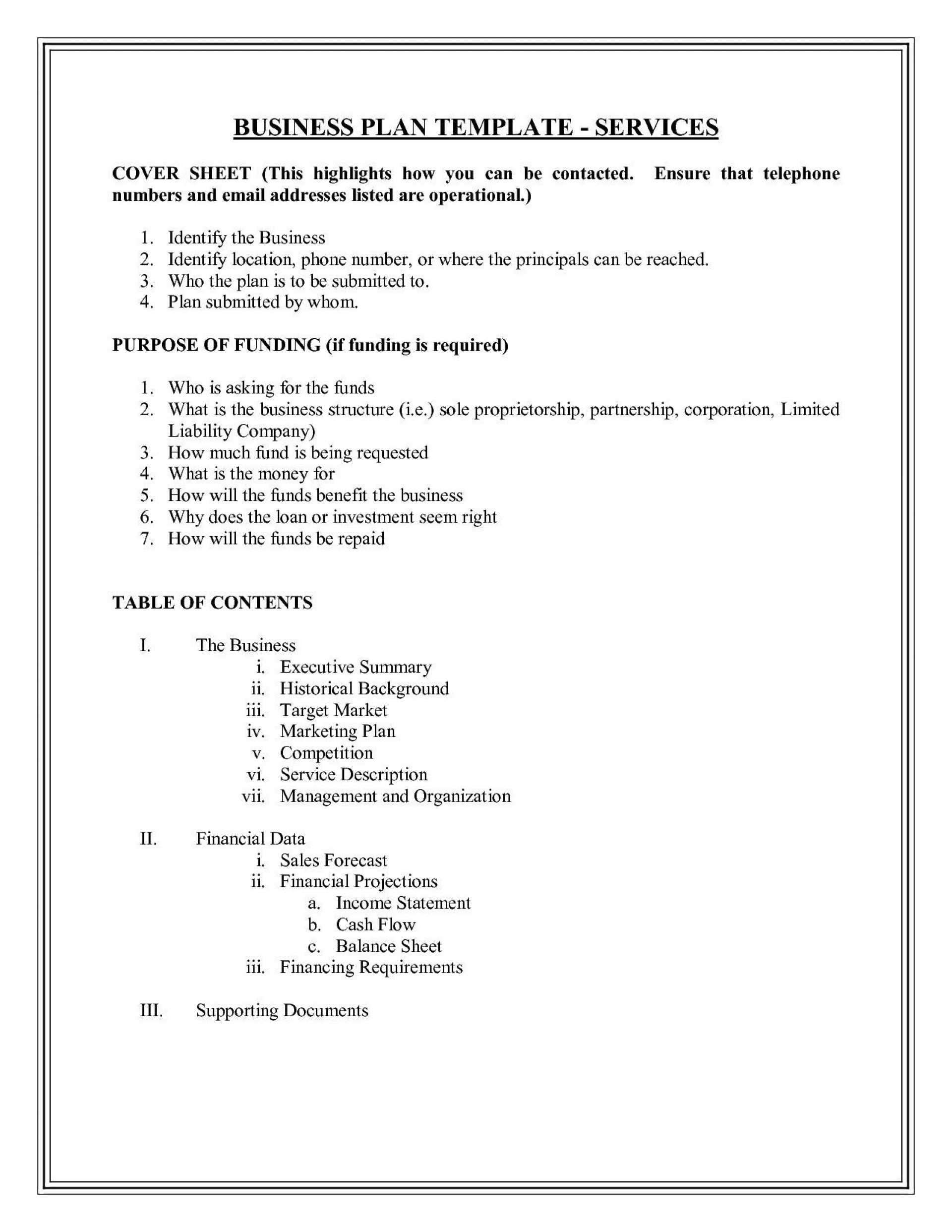 007 Best Photography Busines Plan Example High Definition  Examples Pdf Proposal1920