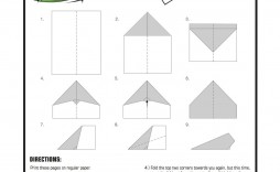 007 Best Printable Paper Airplane Pattern High Definition  Patterns Free Instruction Pdf Design Template