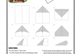 007 Best Printable Paper Airplane Pattern High Definition  Free Plane Design Designs-printable Template