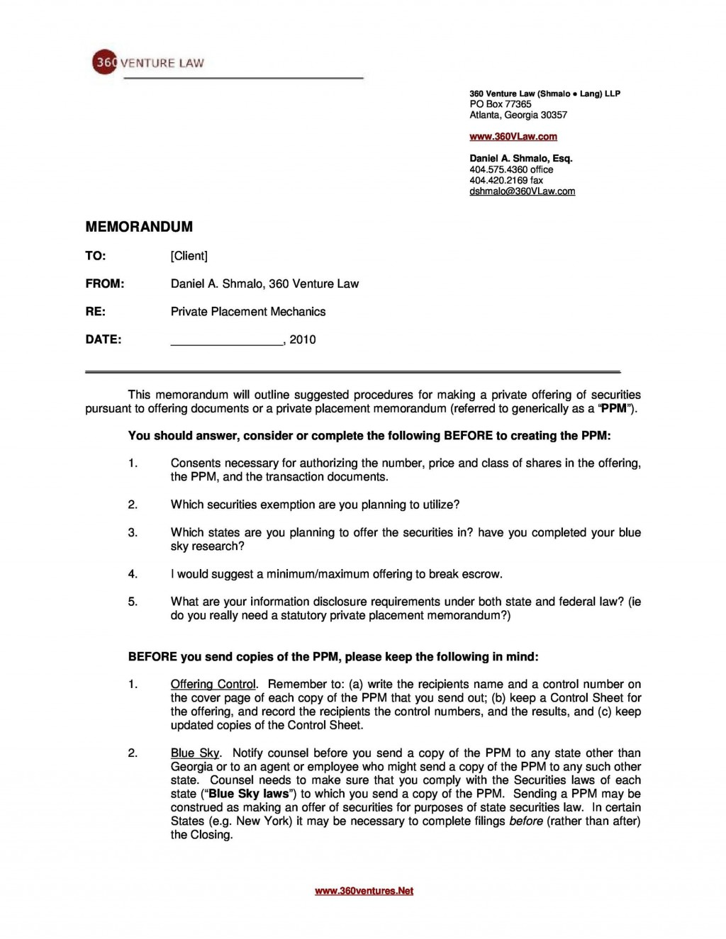 007 Best Private Placement Memorandum Template Idea  Real Estate SingaporeLarge