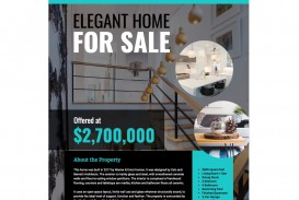 007 Best Real Estate Advertising Template Example  Newspaper Ad Instagram Craigslist