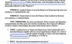 007 Best Rental Lease Template Free Image  Agreement Sample Download Residential Printable