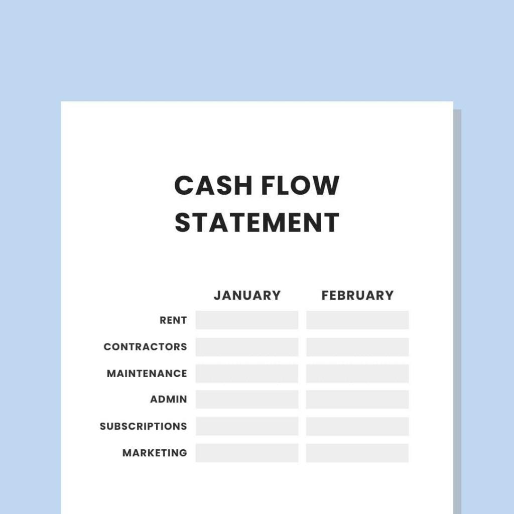 007 Best Statement Of Cash Flow Template Australia High Def Large