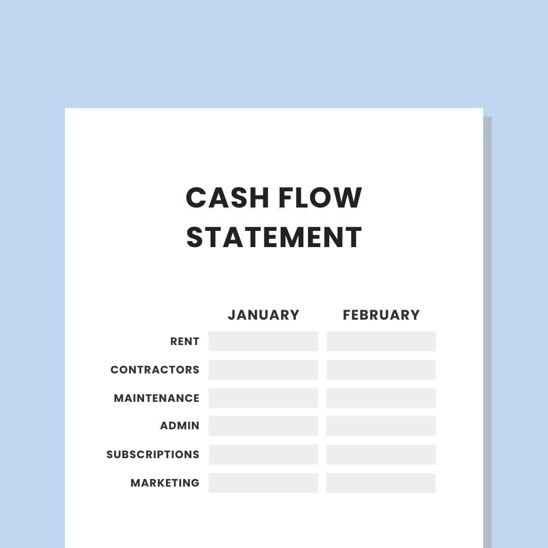 007 Best Statement Of Cash Flow Template Australia High Def Full