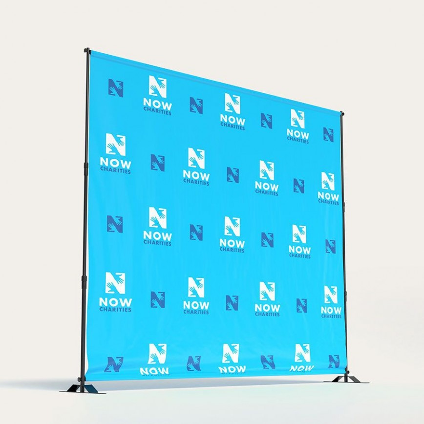 007 Best Step And Repeat Banner Template Highest Clarity  8x8 Photoshop
