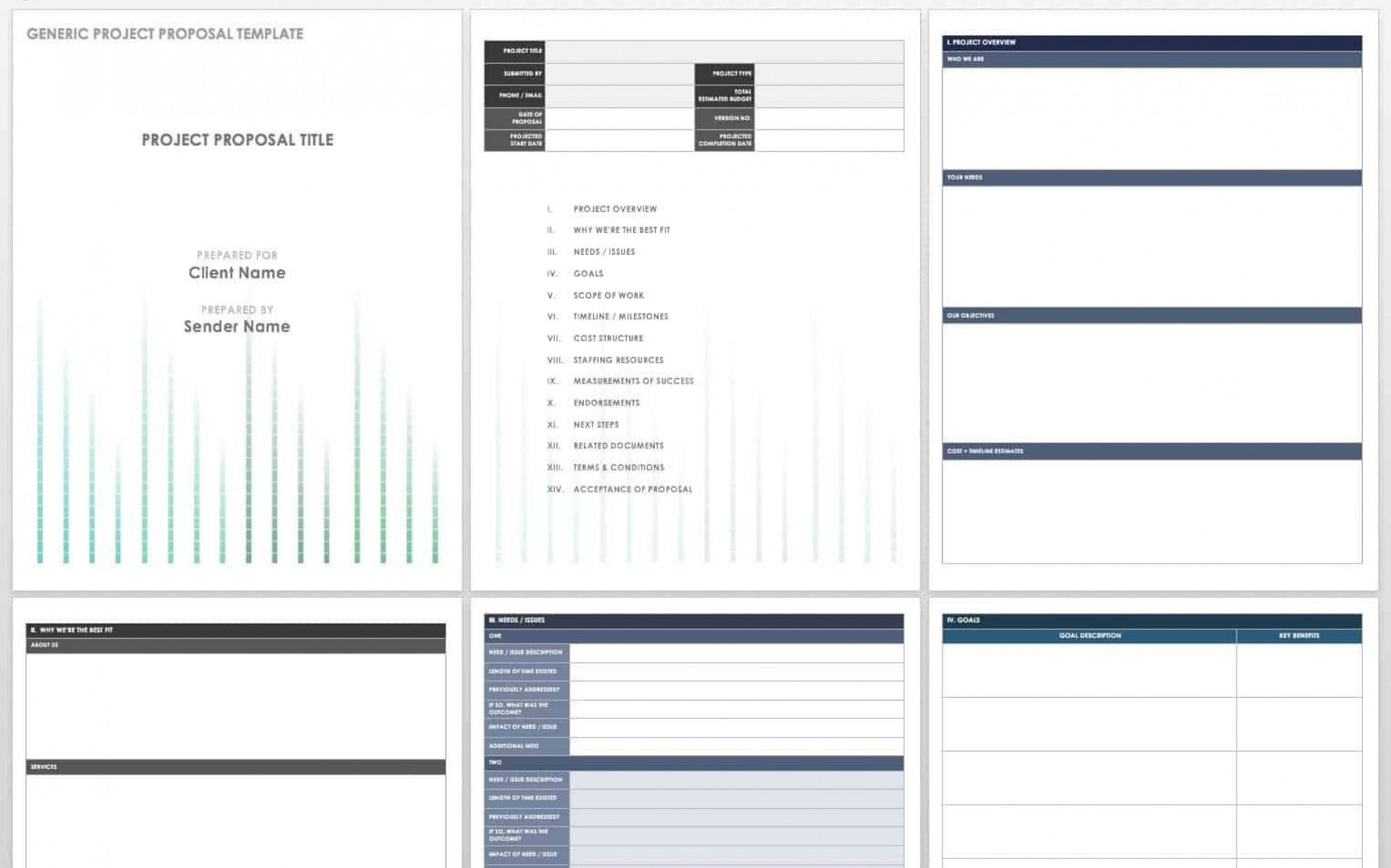 007 Best Web Development Proposal Template Pdf Concept  Sample1920