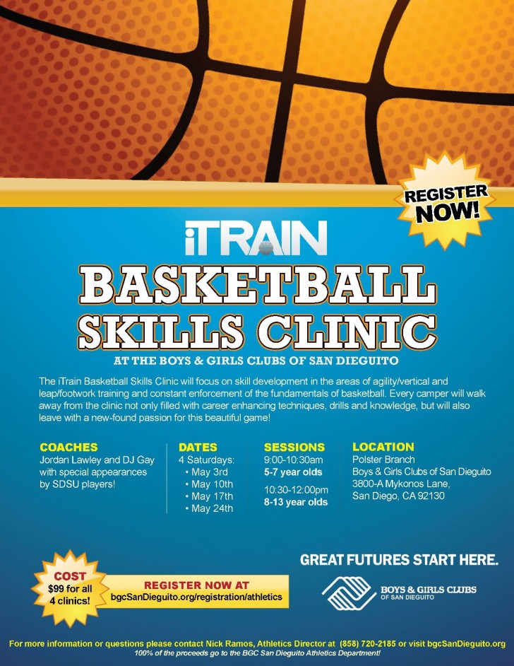007 Breathtaking Basketball Flyer Template Free Image  Brochure Tryout Camp728