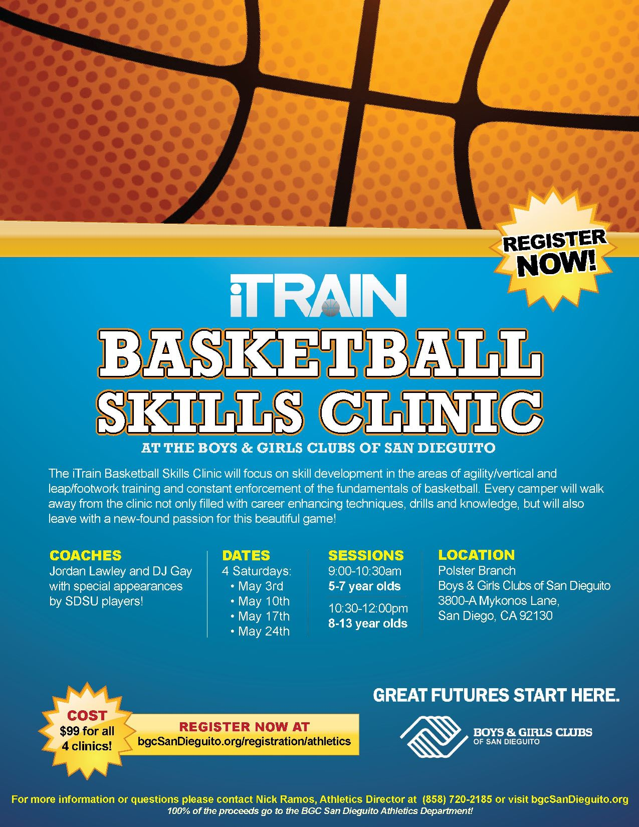 007 Breathtaking Basketball Flyer Template Free Image  Brochure Tryout CampFull