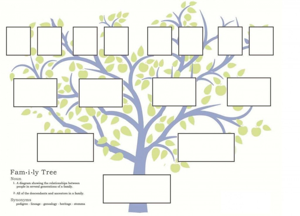 007 Breathtaking Free Editable Family Tree Template For Mac Concept Large