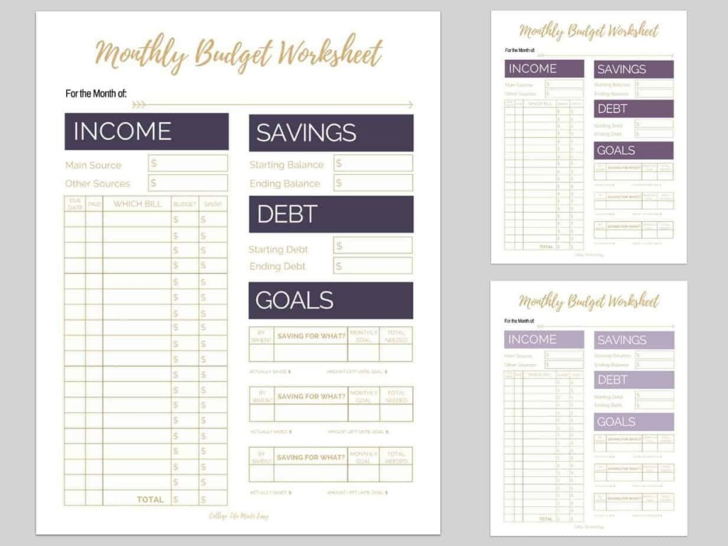 007 Breathtaking Free Monthly Budget Template For Mac High Def  Personal Spreadsheet HouseholdLarge