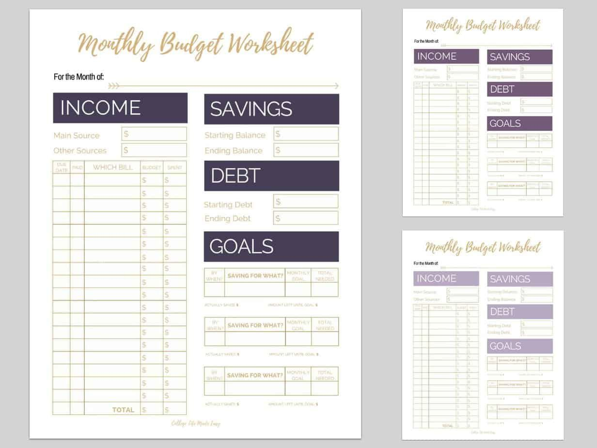 007 Breathtaking Free Monthly Budget Template For Mac High Def  Personal Spreadsheet HouseholdFull