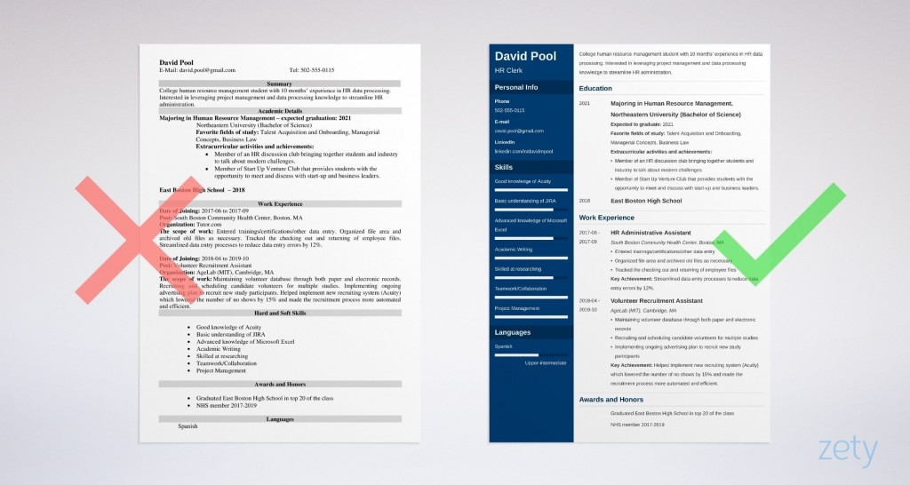 007 Breathtaking Freshman College Student Resume Template High Definition  For With Little Work Experience FreeLarge