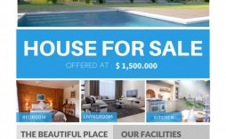 007 Breathtaking House For Sale Flyer Template Inspiration  Free Ad
