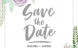 007 Breathtaking Save The Date Template Photoshop Sample  Adobe Card
