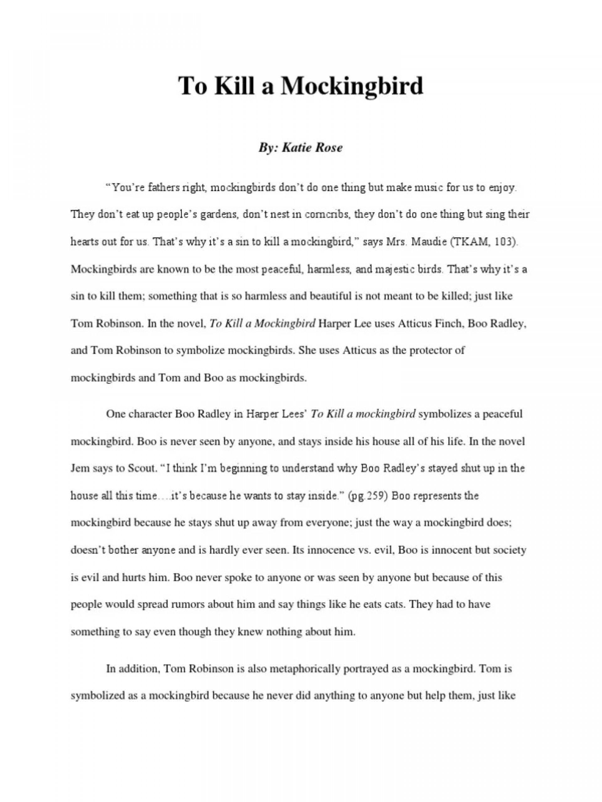 007 Breathtaking To Kill A Mockingbird Essay Highest Quality  Question Courage Thesi Pdf1920