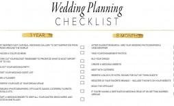 007 Breathtaking Wedding Planning Timeline Template Design  Day Planner Of 6 Month