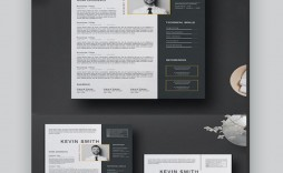 007 Dreaded Adobe Photoshop Resume Template Free Image  Download
