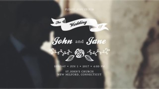 007 Dreaded After Effect Wedding Template Inspiration  Free Download Cc Kickas Zip File320