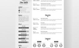 007 Dreaded Creative Resume Template Freepik Example