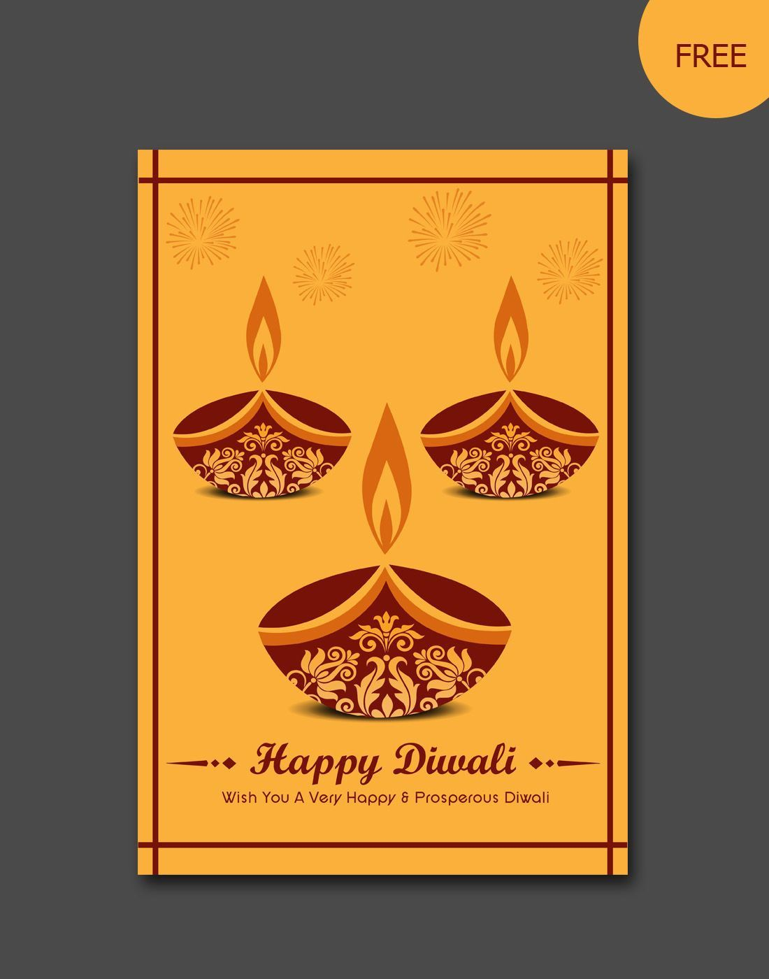 007 Dreaded Diwali Party Invite Template Free Picture Full
