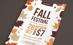 007 Dreaded Fall Festival Flyer Template Inspiration  Free
