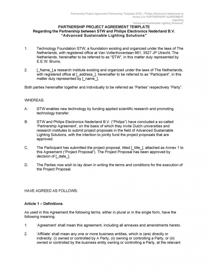 007 Dreaded Free Busines Partnership Agreement Template Sample  Small Download South Africa Uk
