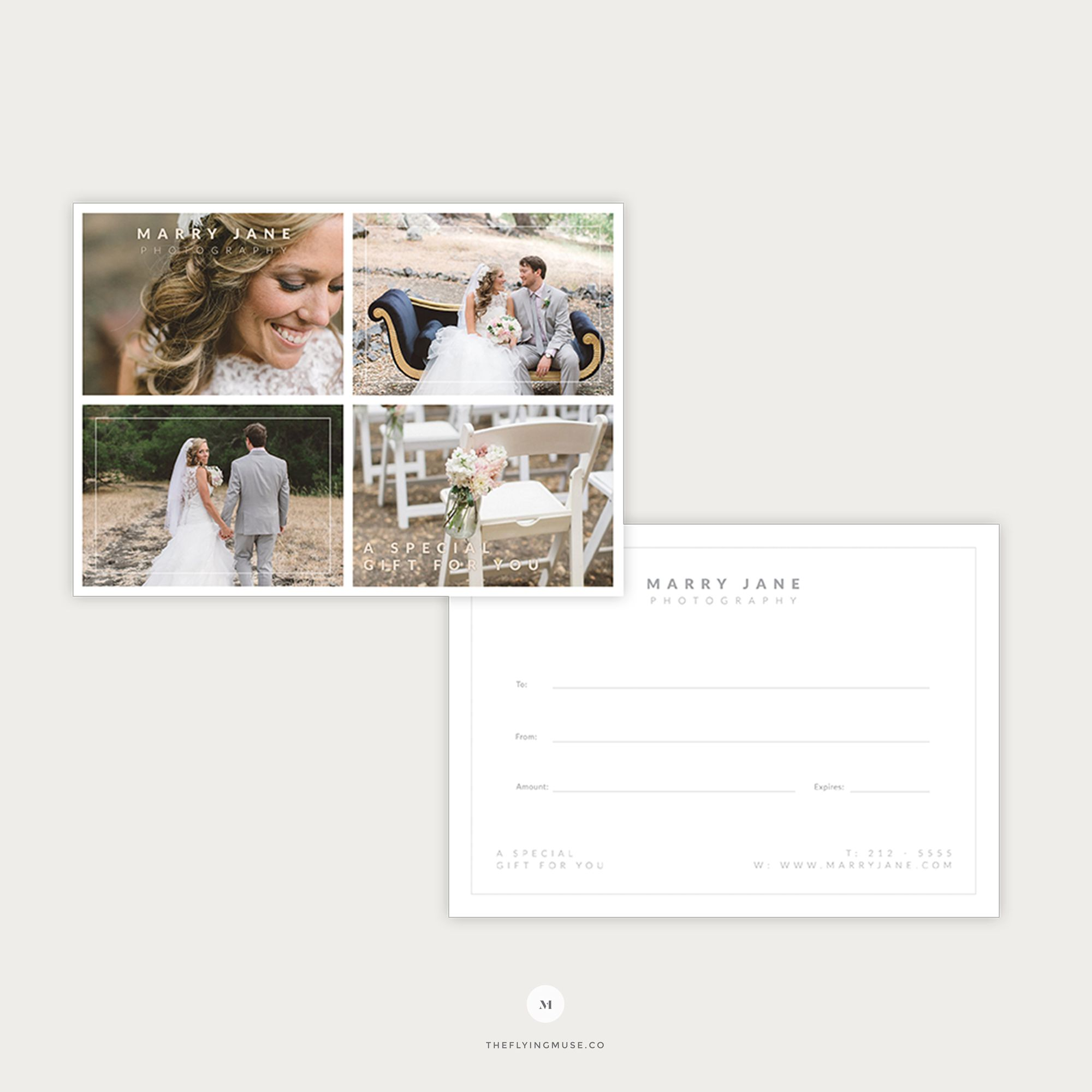 007 Dreaded Photography Gift Certificate Template Photoshop Free Sample Full