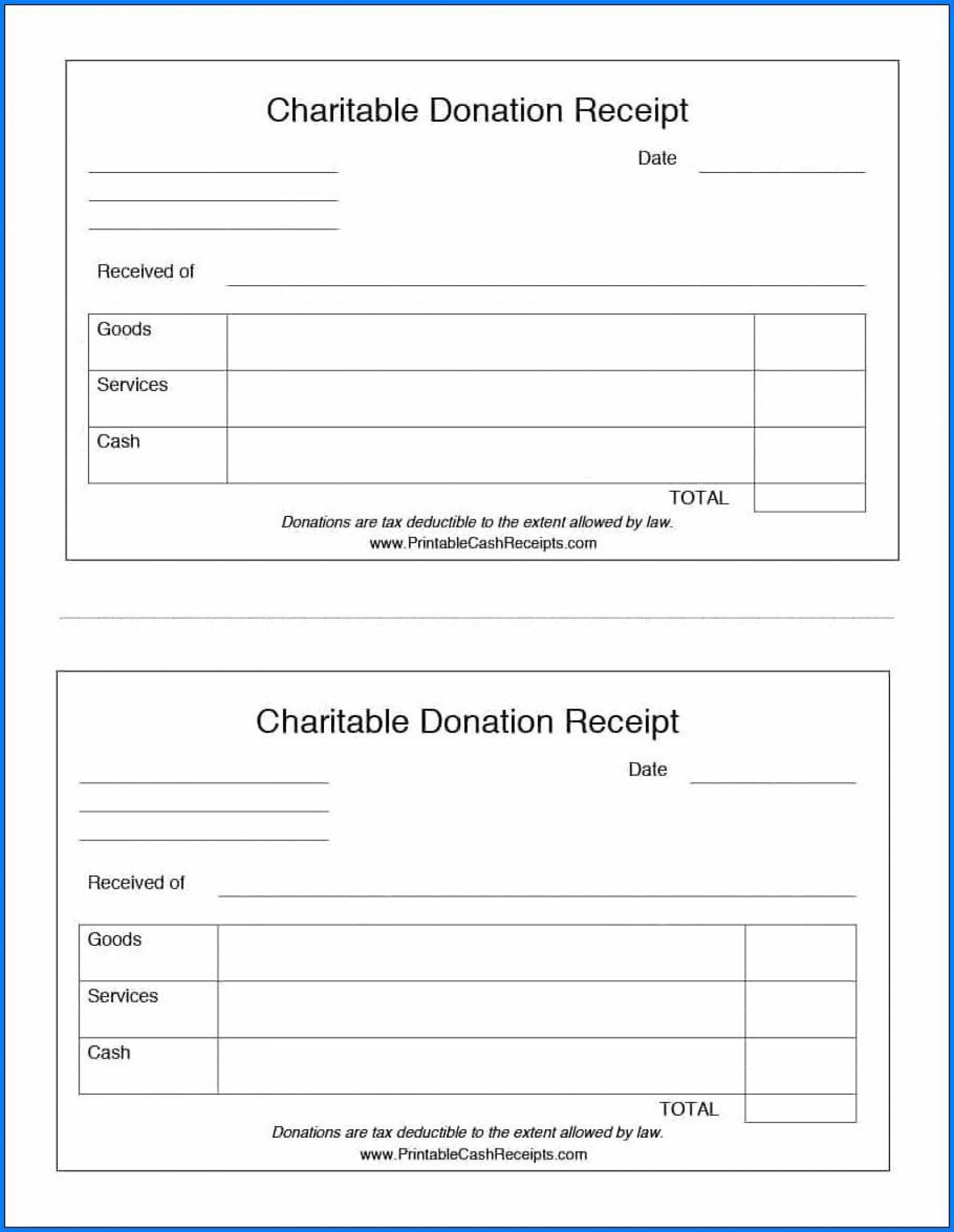 007 Dreaded Tax Deductible Donation Receipt Printable Image 1920