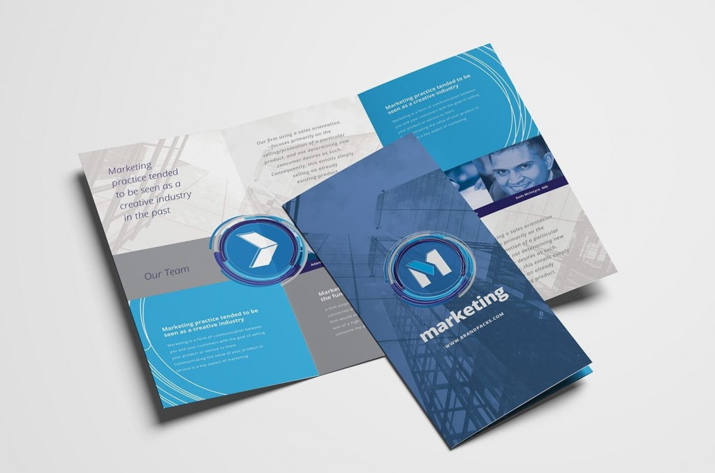 007 Dreaded Template For Trifold Brochure High Def  Tri Fold Indesign A4 Free In Word DownloadLarge
