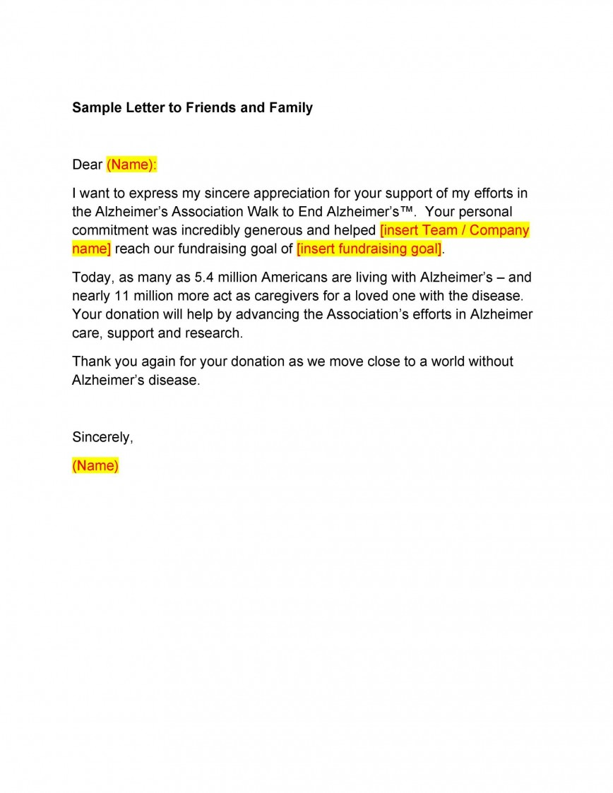 007 Dreaded Thank You Letter Template Highest Quality  Donation Word Printable Format Pdf868